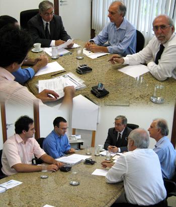 Foto reunião SEPLAN